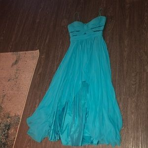 Women's Cache High-Low Evening Gown Prom Dress
